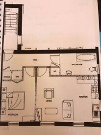 1 Bedroom, First Floor apartment- Riverside Manor, Antrim