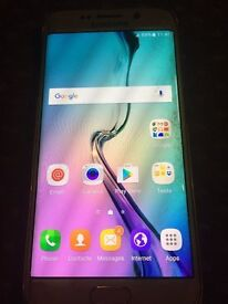 samsung s6 edge white unlocked open o2 02 ee t mobile virgin tesco 3 vodafone sim free