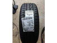 2x Bridgestone Turanza run flat tyres: 195/55 R16