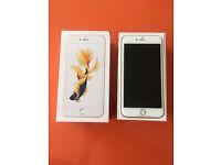 APPLE IPHONE 6s PLUS GOLD 128GB £450 NOT SAMSUNG