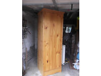 PINE BEDROOM WARDROBE