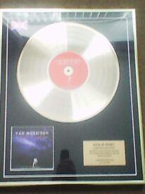 van morrison, gold album, magic time, ltd edition