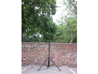 3.5 Metre Dual Telescopic Lighting Stand with Lighting T Bar