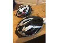 Challenge Men's Helmet & Bikemate girls helmet
