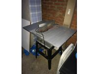 Heavy duty professional Wickes Table Saw