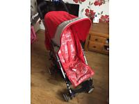 Mothercare compact fold stroller