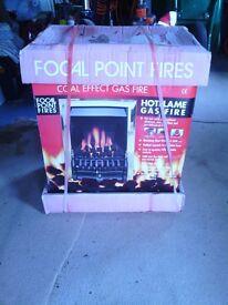 Focal Point gas fire, new.