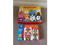 Orchard toys x2 children's games