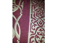 CHARITY SALE: Chenille single bedspreads (x2) with silk lining. All money to rescue cats and dogs.