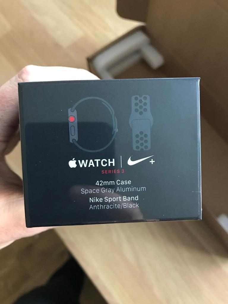 Apple iwatch series 3 Nike + edition