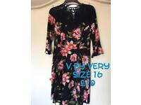New and nearly new Ladies clothes, size 16, next, river island etc