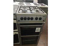 50CM SILVER BEKO GAS COOKER GRILL/OVEN