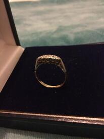 18ct gold & platinum diamond ring (BEST OFFER)