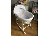 Excellent condition Moses basket