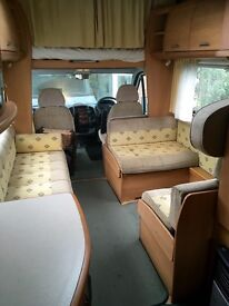 Swift suntor motor Home low mileage great condition