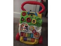 Vtech baby walker, batteries included