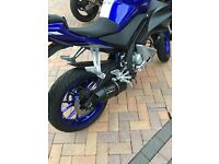 GPR exhaust system for Yamaha YZF 125r ABS