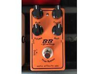 Bb preamp xotic guitar pedal effect