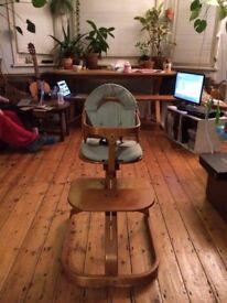 Svan of Sweden wooden highchair 6months+