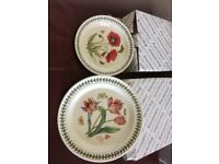Portmeirion dinner plates and side plates