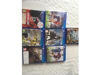 Bundle of PS4 games