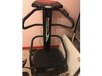 Fitness vibration plate