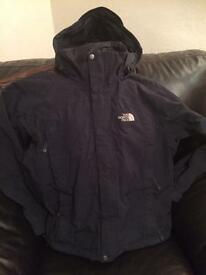 The North Face jacket coat, black, size extra small XS £30