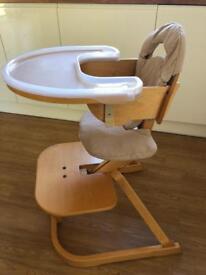 Svan High Chair Set and Svan Chair - BARGAIN!