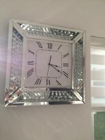Modern design clock 50x50