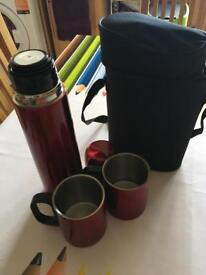 Lakeland Brew For Two Drinks Flask