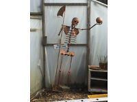 6''6 Metal Figurine