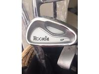 RYDER ROOKIE JUNIOR GOLF SET ALL NEW EXCEPT ONE CLUB