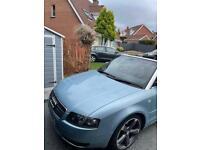 Audi A4 Sline Convertible