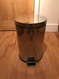 IKEA Strapats stainless steel trash can (pedal bin) - £5