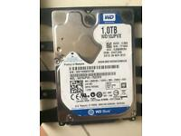 Western digital 1tb hard drive.