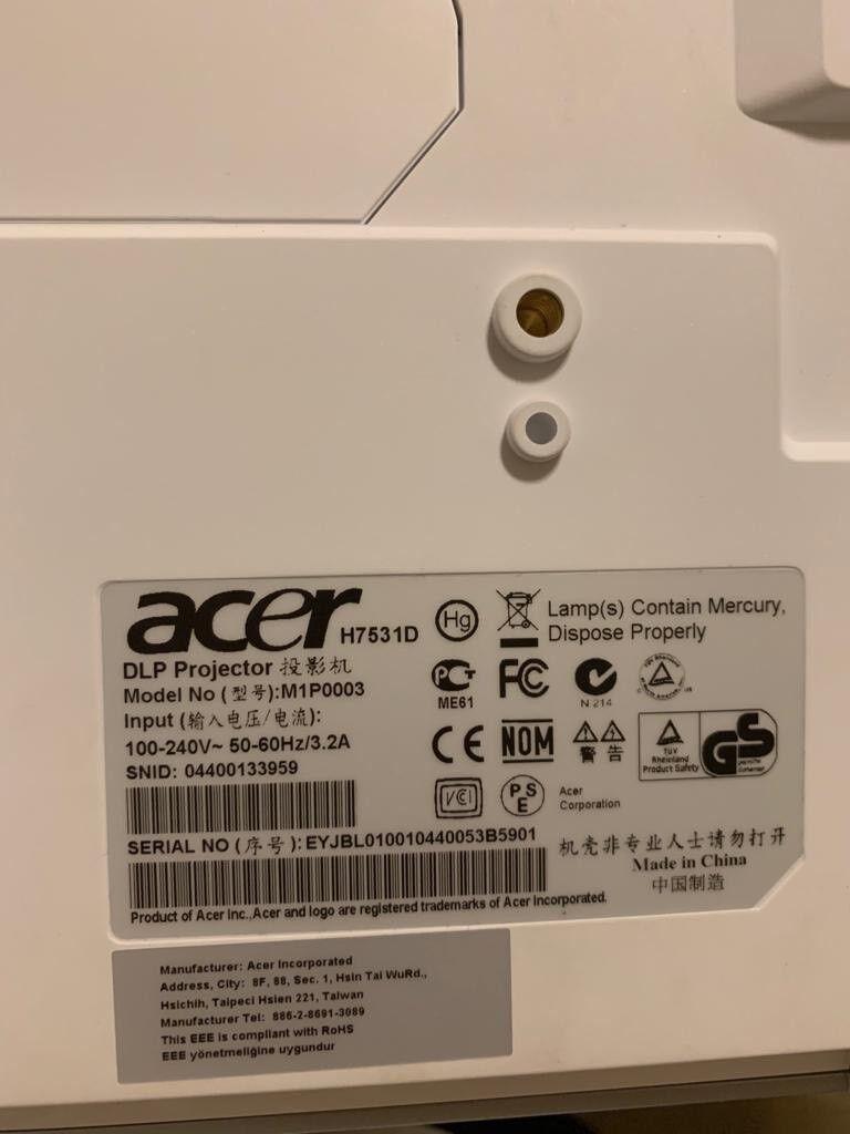 acer h7531d manual