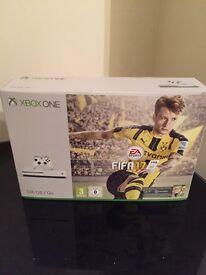 ***Brand New*** still in box Xbox one S white plus Fifa bundle