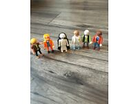 Playmobil figures x6 bundle