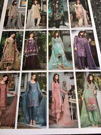 Designer Asian suits in its original box