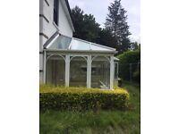 Conservatory (UPVC double glazed) 11ft x 24ft