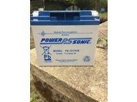 12 Volt 17AH Rechargable Battery