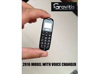 Beat The Boss 3in1 J8 World Smallest Mobile Phone 2016 model with VOICE CHANGER