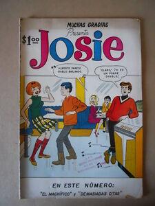 Muchas-Gracias-JOSIE-Mensual-n-7-1966-Editoria-SOL-edizione-Mexico-G461-BUONO