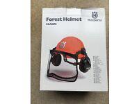Chainsaw helmet - unused
