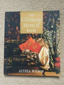 THE ULTIMATE STENCIL BOOK BY ALTHEA WILSON- BRAND NEW