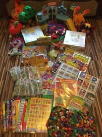 Moshi Monsters Kids Toys, Massive Bundle, In Exc.Cond, Monopoly, Treehouse, Cuddlies, Colour Books &