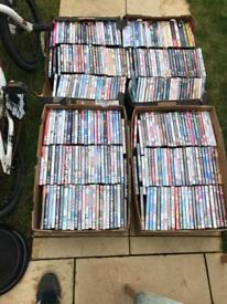 Job lot of 300 dvds