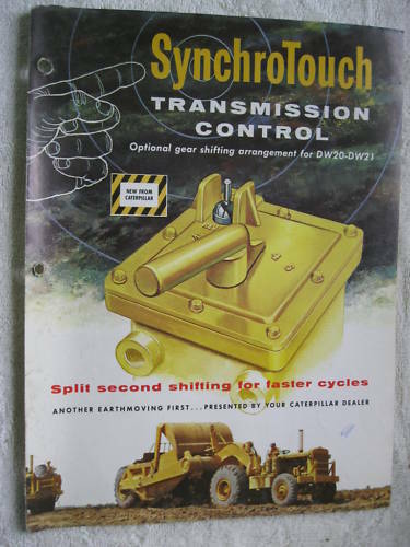 CATERPILLAR SYNCHROTOUCH TRANSMISSION CONTROL BROCHURE