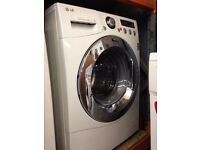 LG 8KG WASHING MACHINE WHITE RECONDITIONED