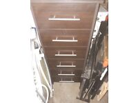 Bedside cabinet & tall draw cabinet